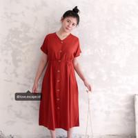 ELLIPSES.INC Dress Casual Terbaru Fashion Wanita LYN DRESS