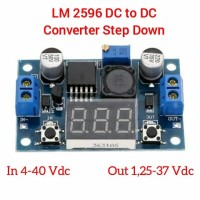 LM 2596 Dc to Dc Converter Step Down with Display