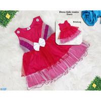 Pakaian Anak Balita Perempuan / Baju Anak Fashion-dress kids yunita