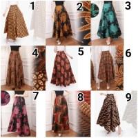 PROMO ROK LILIT BATIK Lika Payung Maxi Panjang Longskirt Wanita