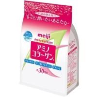 ORIGINAL MEIJI AMINO COLLAGEN PINK / KOLAGEN REFILL 214gram jepang