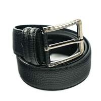 Ikat Pinggang Kulit Belt Leather Gesper Pria Hitam Z