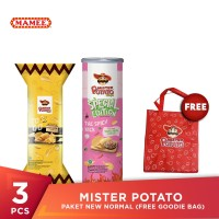 Mister Potato Paket New Normal (Free Goodie Bag)
