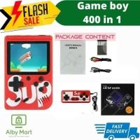 Gameboy Retro FC 400 Games Console Game Mini gamepad retro fc Portabel