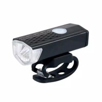 Lampu Depan Sepeda LED - USB Bike Light Rechargeable