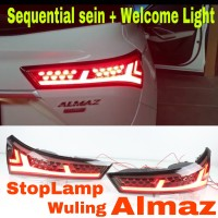 STOP LAMP LED WULING ALMAZ Flowing Sein Welcome Ceremony Light