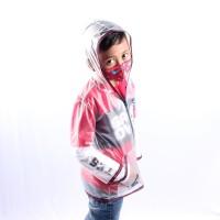Twist Kids - Protector Jacket, Jaket Pelindung Diri Bening Pendek - M