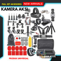 Aksesoris kamera aksi full / aksesoris Action Cam Lengkap