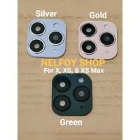 Lensa Kamera iPhone 11 Pro Max XS X XR Pelindung Camera Lens