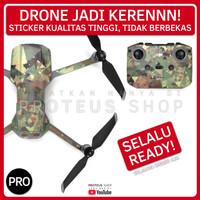 ✅ STICKER SKIN DRONE DJI Mavic Air 2 ARMY LORENG DORENG TENTARA CAMO