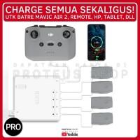 ✅ QUICK CHARGER CHARGE BATRE DJI Mavic Air 2 REMOTE HP CHARGING HUB