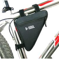 TS22 Tas Sepeda lipat Mtb B-SOUL Segitiga / Frame Bag Bike B-SOUL