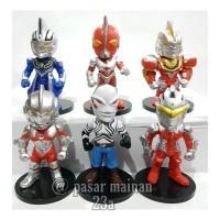 Figure Ultraman Chibi 6 karakter Terbaru