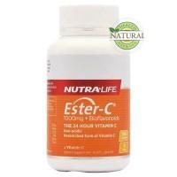 NutraLife Ester C Vitamin C 1000 mg + Bioflavonoids 100 Tablets