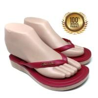 Sandal Wanita NE VIII 1002 - Sendal Jepit Wanita - Red