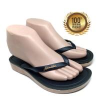 Sandal Wanita NE VIII 1002 - Sendal Jepit Wanita - Black