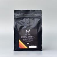 KORONA ESPRESSA Full Robusta Espresso Beans 500 Gram - Biji Kopi