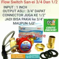 Water Flow Switch 1 - 3/4 San-ei Otomatis Pompa Booster Pendorong