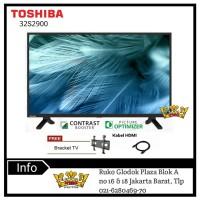 TOSHIBA LED TV 32 Inch HD - 32L2900 VJ USB MOVIE (2019)