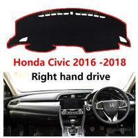 Cover Pelindung Dashboard Mobil Dashboard Shade Mat for Honda