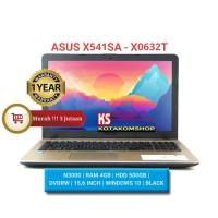 "PROMO LAPTOP ASUS X541-X0632T N3000 RAM 4GB HD 500GB DVDRW 15,6"" WIN10"