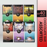 WoCA Cokelat Mix Assorted Premium Chocolate Bar 6x40 gram - 1 SET
