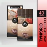 WoCA Cokelat Original Premium Chocolate Bar 40 gram - 1 PC