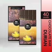 WoCA Cokelat Durian Premium Chocolate Bar 40 gram