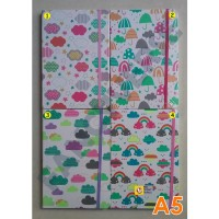 Notebook Hardcover A5 Cloud NC5022 / Agenda Diary Notes Buku Catatan