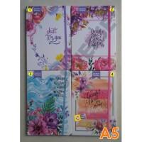 Notebook Hardcover A5 NA580089 / Agenda Diary Notes Buku Catatan