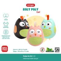 IQAngel Roly Poly Owl Toy / Mainan Rattle Bayi / Mainan Edukasi Bayi
