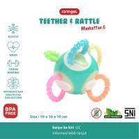 IQAngel Manhattan 6 Teether Rattle Toy / Gigitan Bayi Teether Rattle