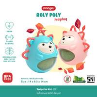 IQAngel 2in1 Roly Poly Hedgehog Teether Toy / Mainan Gigitan Bayi