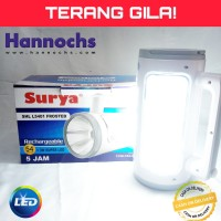 SENTER LED BESAR TERANG EMERGENCY SURYA SHL L5401 BISA POWER BANK