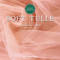 SOFT TULLE - KAIN TILE / TULLE POLOS HALUS & LEMBUT