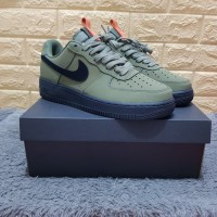 Sepatu Nike Air Force 1 Medium Olive Premium Original