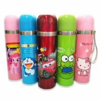 Thermos Air Panas Thermos Karakter Anak-anak Stainless Steel 500ML