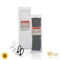 Eclat Cable Ties 25 CM L4 Putih Pengikat Kabel Tis 25cm L4.8mm