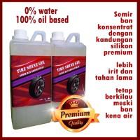 Semir Ban Konsentrat Yuka Premium 1 Liter/Tire Gel/Pengkilap Ban