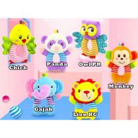 Rattle Donat Bayi/ Mainan Bayi - Owl PR, Donat