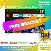 TV LED Smart Android 9.0 CHANGHONG Netflix L32H7 Google Certified