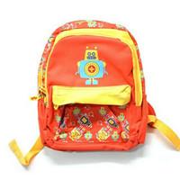Tas Sekolah Anak Robot / Backpack Wiggle/ Ransel Anak / Tas Anak Sekol