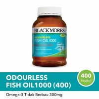 Fish oil 1000mg Blackmores isi 400