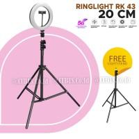 RingLight Costa RK-43 Mini 20 cm Bi Colour LED Makeup With Stand 2Mete
