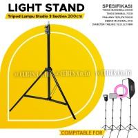 Light Stand COSTA CF-3200 Tripod Lampu Studio 3 Section 200cm