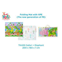 Yofi Playmat Folding Mat 200X160X1cm