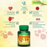 Nutrimax COENZYME Q-10 isi 30 Tablet Vitamin Antioksidan [BPOM/HALAL]