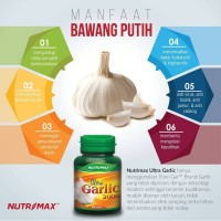 Nutrimax Ultra Garlic 2000 isi 30 Vitamin penurun tekanan darah tinggi