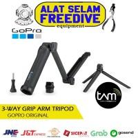 Gopro Original 3-Way 3 Way Grip Arm Tripod Camera Action Cam Go Pro