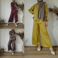 set tessy 21 - setelan celana muslim wanita